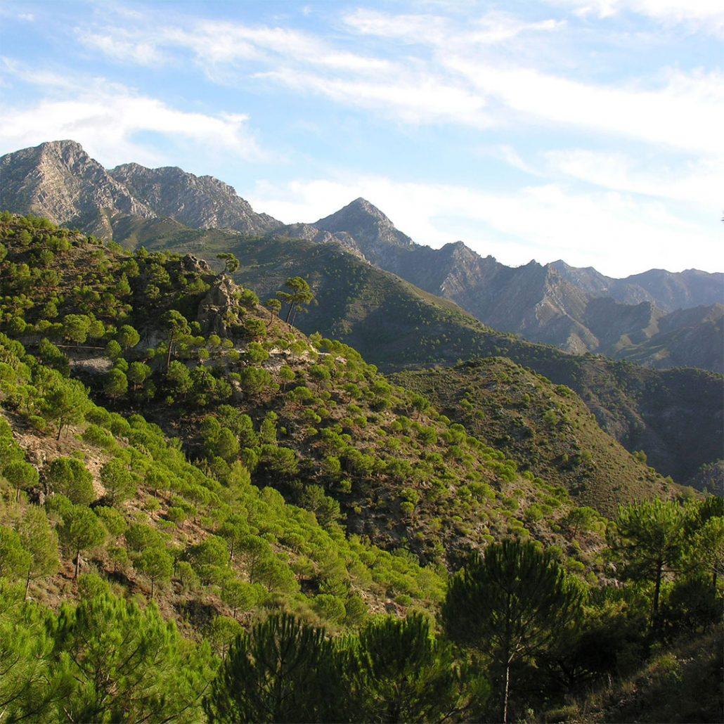 lugares y entorno para turismo activo en almeria