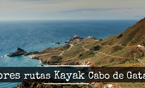 mejores rutas kayak cabo de gata, kayak las negras almeria