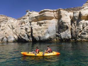 Acantilados en kayak Cabo de Gata