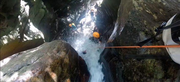 ruta barranquismo palancon almeria
