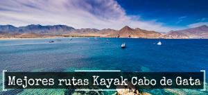 mejores rutas kayak cabo de gata, kayak la fabriquilla arrecife de las sirenas, kayak los escullos