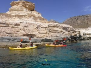 Ruta de Kayak en Cabo de Gata